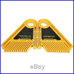 Double Featherboard for Trimmer Router Table Saw Fence Woodworking Tool Set R1BO