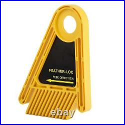 Feather Boards Accurate Plastic Table Saw Fence Multipurpose Miter Gauge Slot