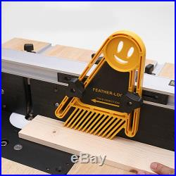 Featherboard Double Feather Board Router Woodworking Table Saw Guide Fence