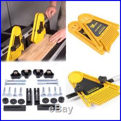 Featherboard Feather Board Locator Plate Woodworking Router Table Saw Fences