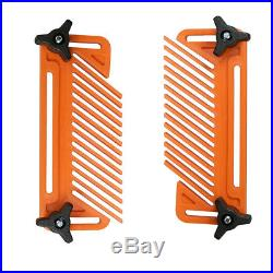 Featherboard1 Pair Double Feather Board For Woodworking Router Table Saw Fences