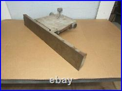 Fence Assembly From Vintage 6'' Rockwell Delta Jointer 37-600