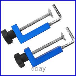 Fence Clamps 2Pcs Universal Multifunctional Fixing Tools 3.9In Aluminum Alloy