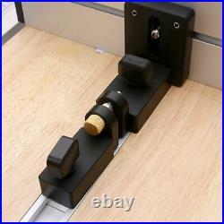 Fence T Track Slot Sliding Brackets Miter Gauge Woodworking Profile Connectors