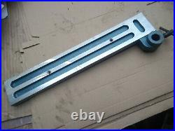 Fence in blue FOR saw table attachment as per photos Coronet Major