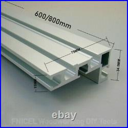 Fence with Metric Scale for Table Saw Router, Angle Miter Gauge Sawing Assembly