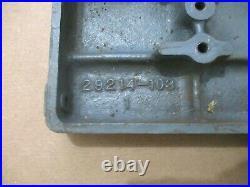 Front Table MPN 29204 For Craftsman 4-3/8 Jointer Planer Model 103.23340