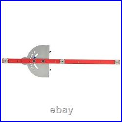 General Miter Gauge Table Saw Ruler Assembly Equipment With Telescoping Fence
