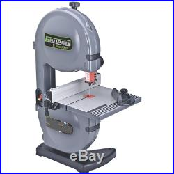 Genesis Band Saw Built-in Dust Port Rip Fence Aluminum Tilt Table 2.2 Amp 9 in