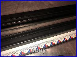 Genuine Original Ryobi BT3100 Table Saw Fence Rail Set With Locking Clamps