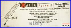 Jet 708950Z XACTA Fence II 30/50 Commercial Rip Fence