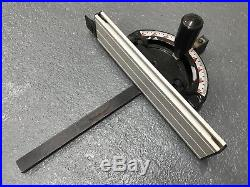 Jet Table Saw Mitre Fence