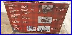 Lumberjack 8 Bench Table Saw with Stand Side Extentions Fence & TCT Blade 240V