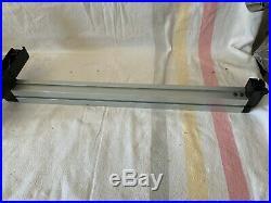 METAL TABLE SAW FENCE 25x 2x 1 1/2 #969145