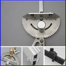 Miter Gauge Aluminum Profile Fence With Track Stop Table Router Miter Gauge