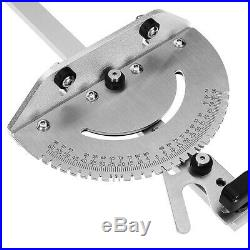 Miter Gauge Table Saw Router 27 Angle Miter Gauge Guide Aluminium Fence Tool