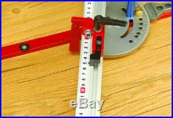Miter Gauge Table Saw Router DIY Woodworking Tool Bandsaw Telescoping Fence