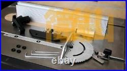 Miter Gauge Table Saw Router T-Track Brackets 450/600/800mm Fence Angle Guides