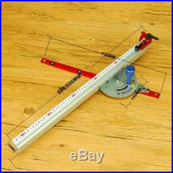 Miter Gauge Table Saw Router Woodworking Angle Fence Ruler Carpentry Accesory