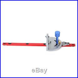 Miter Gauge Woodworking For Bandsaw Table Saw Fence Cut Guide Aluminum Alloy