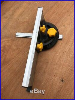 Mitre saw fence. Off a table saw. Fully adjustable
