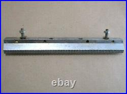 Montgomery Ward THS 2700 Motorized Table Saw Table Extension Wing WithFence Rack