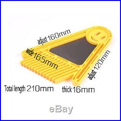 Multi-purpose Dual Featherboard for Router Tables Saw Miter Gauge Fences NBTS