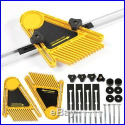Multi-purpose Tools Set Double Featherboards Table Saws Router Tables Fence Q5A9