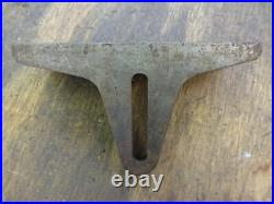 Myford saw bench table fence