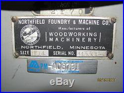 Northfield Foundry & Machine 16 5HP 3 Phase Industrial Duty Table Saw WithFence