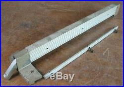 Older Craftsman 103. Table saw genuine parts fence with aluminum rail (17 in.)
