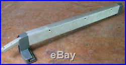 Older Craftsman 103. Table saw genuine parts rip fence for 20 in. Table