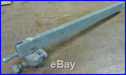 Older Craftsman 113. Table saw parts rip fence, micro-adjust (27-in.)