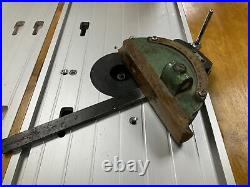 Original Startrite Table Saw Mitre Gauge Fence protractor To Fit TA275 TA175