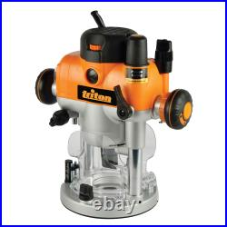POWERFUL 2400W Precision Plunge Router & FENCE-1/2 Variable Micro Winder