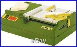 Proxxon Bench Table Saw Carbide Tipped Blade Adjustable Fence Sturdy Plastic
