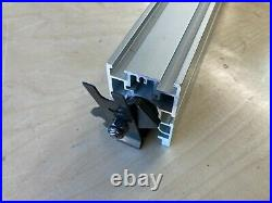 READ PARTS ONLY Craftsman Table Saw Aluminum Fence Align A Rip 2412