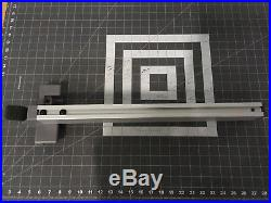 RIDGID 089037006701 R4516 Table Saw Replacement Rip Fence