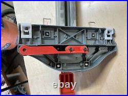 Ridgid Table Saw Aluminum Fence Align-A-Rip Style 36 right 12 left 36/12