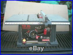 Rip fence for Craftsman 10 Table Saw 137 series