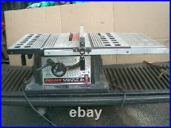 Rip fence for Skilsaw 10 Table Saw model 3400
