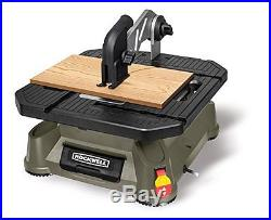 Rockwell BladeRunner X2 Portable Tabletop Saw with Steel Rip Fence, Miter Gauge
