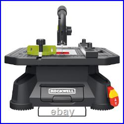Rockwell Portable Table Saw Blade Guard System Corded Miter Fence Included