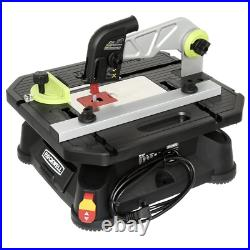 Rockwell Portable Table Saw Blade Guard System Corded Miter-Rip Fence Compact