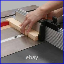 Ruler Saw Miter Gauge Assembly Carpentry Tools, Aluminum Fence With Stop Track