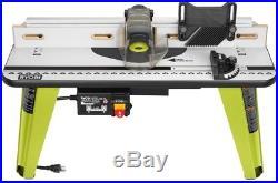 Ryobi Universal Router Table Saw Vacuum Port Aluminum T-track Adjustable Fence