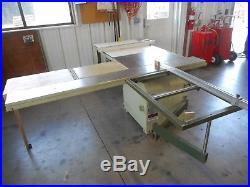 SCM MINIMAX MINI MAX SC3 4 Hp SLIDING CIRCULAR TABLE SAW w BIESEMEYER FENCE