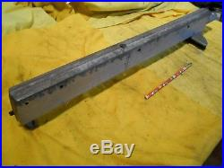SHOPSMITH TABLE SAW RIP FENCE cutting guide work holder tool MARK 5