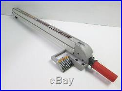 Sears Craftsman 10 Table Saw Aluminum Align-A-Rip Rip Fence