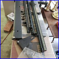 Sears Craftsman 10 Table Saw Fence & Guide Rails, Guard